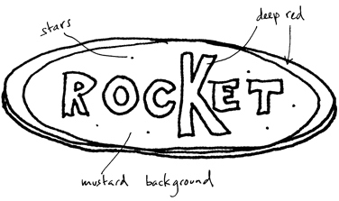 Sketch of logo